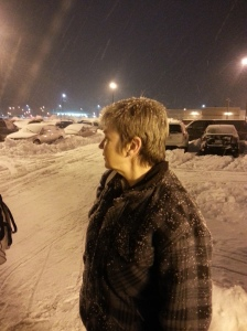 Searching for parking at 3am.  Where's the shovel?