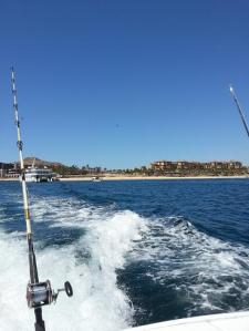 leaving port to fish