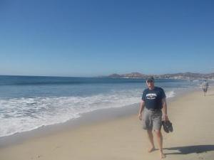 nice stretch of beach