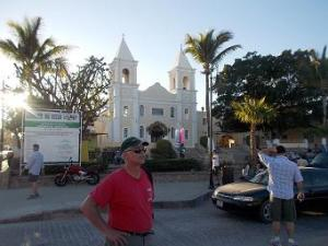 Old church in the village of San Jose del Cabo