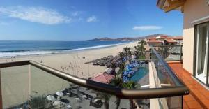 view from our balcony