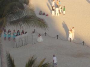 The wedding next door