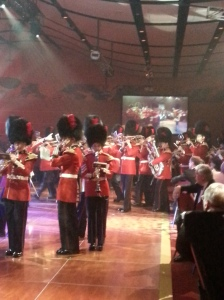 Marching during the grand finale - the 1812 Overture