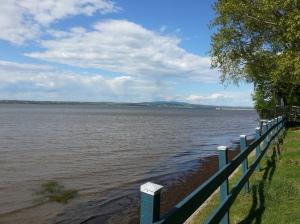 Le fleuve St-Laurent