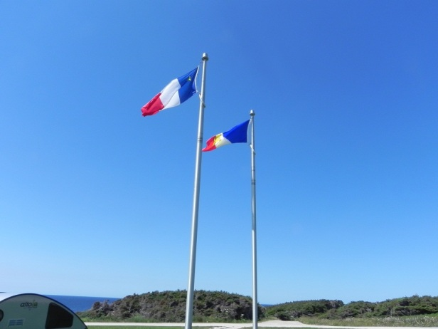 acadian and french of NF flags