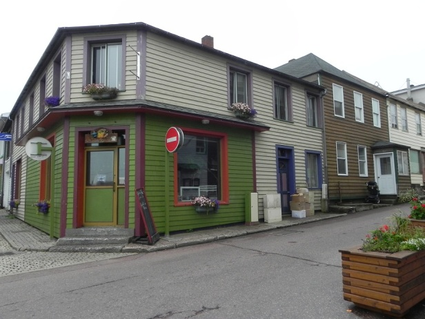colourful shops and homes in SPM