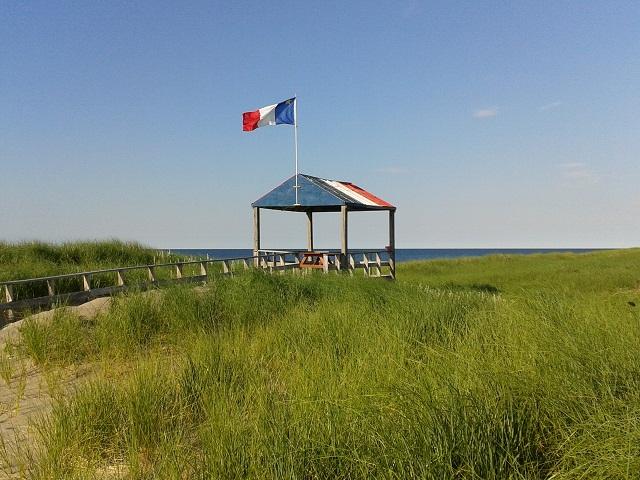entrance at escuminac beach