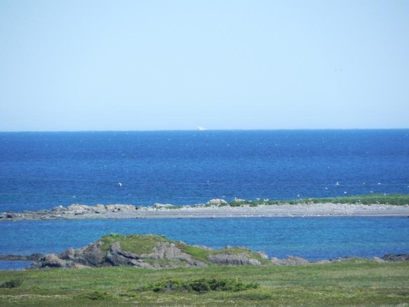 iceberg in lanse aux meadows
