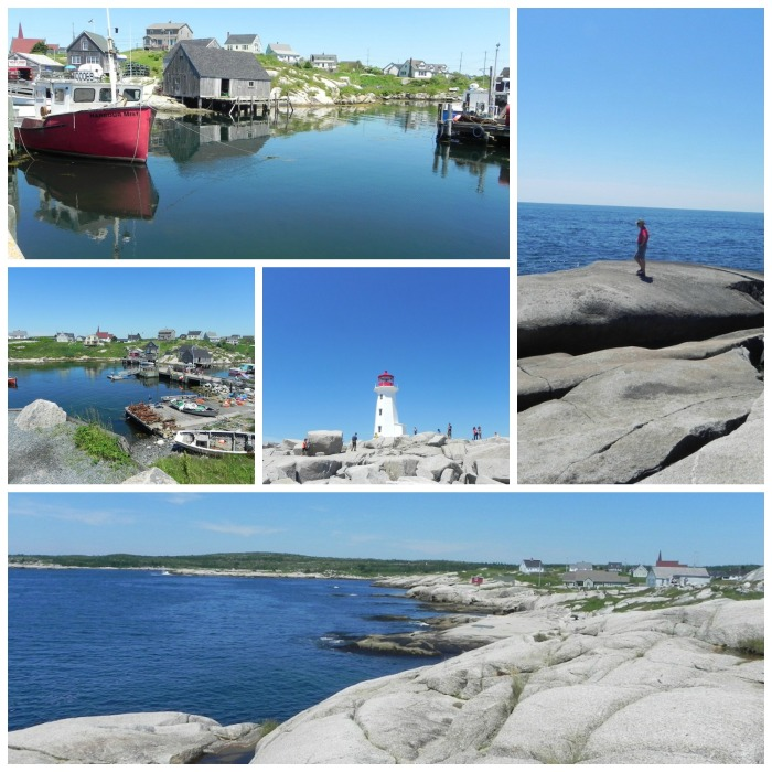 peggys cove Collage