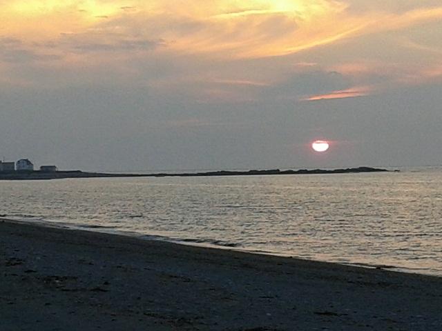 sunset Ste Anne des Monts2