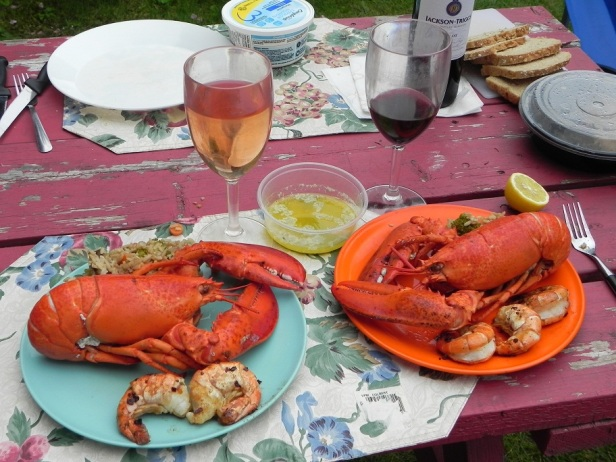 Another lobster dinner