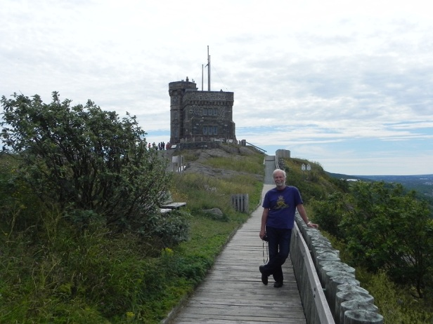 The Cabot Tower, built in the 1800s to commenmorate Queen Victoria's Jubilee.  What did we build for Queen Elizabeth II to celebrate her Jubilee?