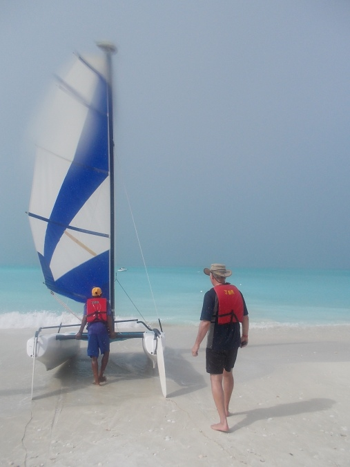 This is the Hobie Cat.