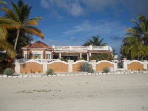 The villa for rent on the beach, about $2000 per week or you can buy it for $3.5M.
