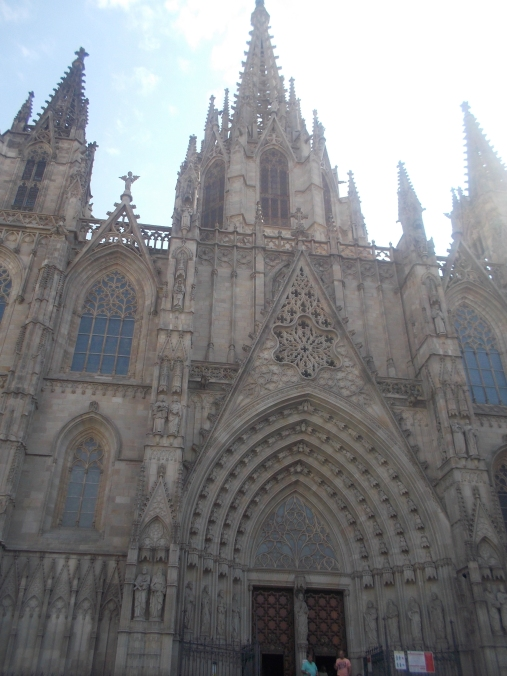 The Cathedral of Barcelona - Santa Eulalia
