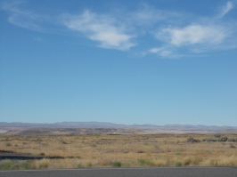 It gets dryer as we moved past Utah and into parts of Idaho. Surprising how many deserts there are in that area.