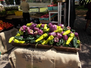 Farmer's market on Saltspring