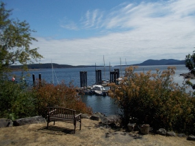 Hope Bay on Pender Island