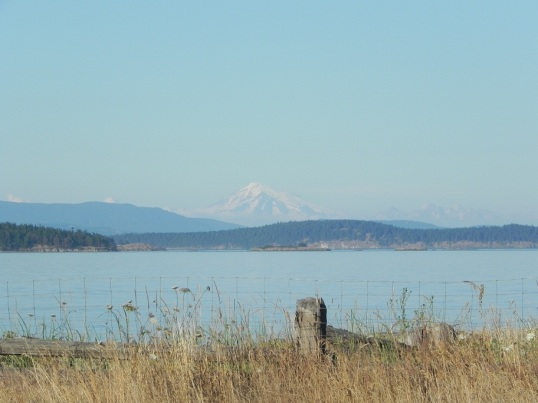 Mount Baker from the Sidney side