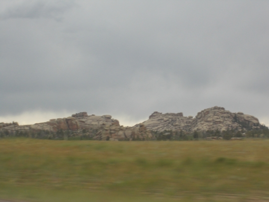 Wyoming rock formations are varied.