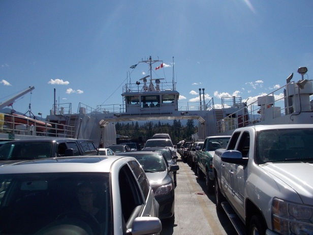 Another ferry ride, oh boy!