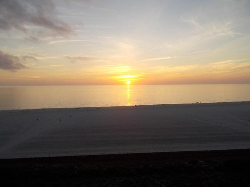 sunset crescent beach 2