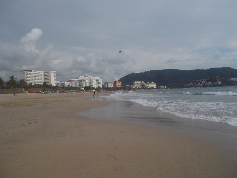 Ixtapa beach hotel strip