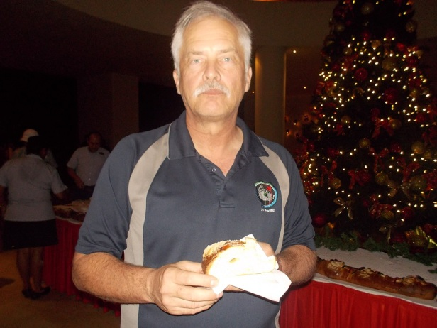 Leon having the King's bread