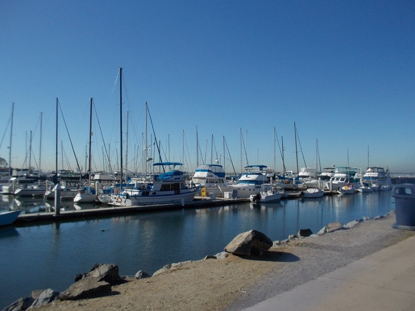 chula vista marina  morning