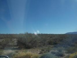 desert going east on hwy 10