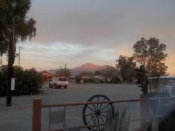 mountains near Picacho