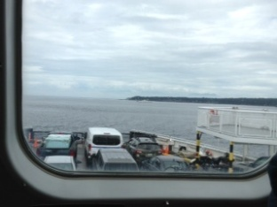 ferry ride from Duke Point