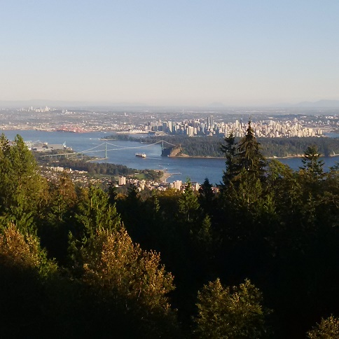 from Cypress Mountain