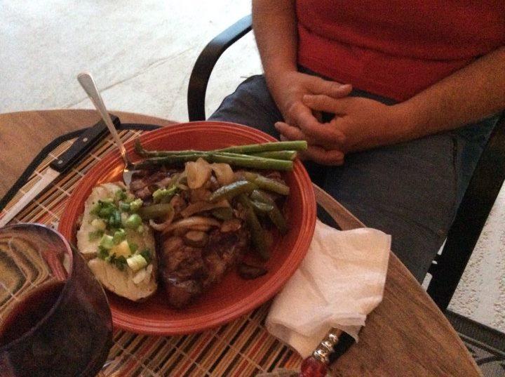 dinner with Marlene