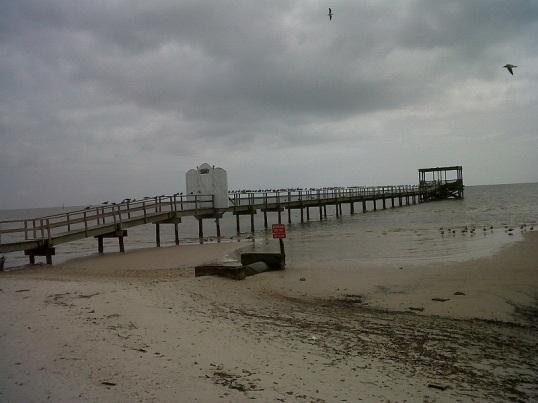 dock in Biloxi