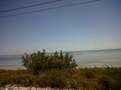 driving along the keys