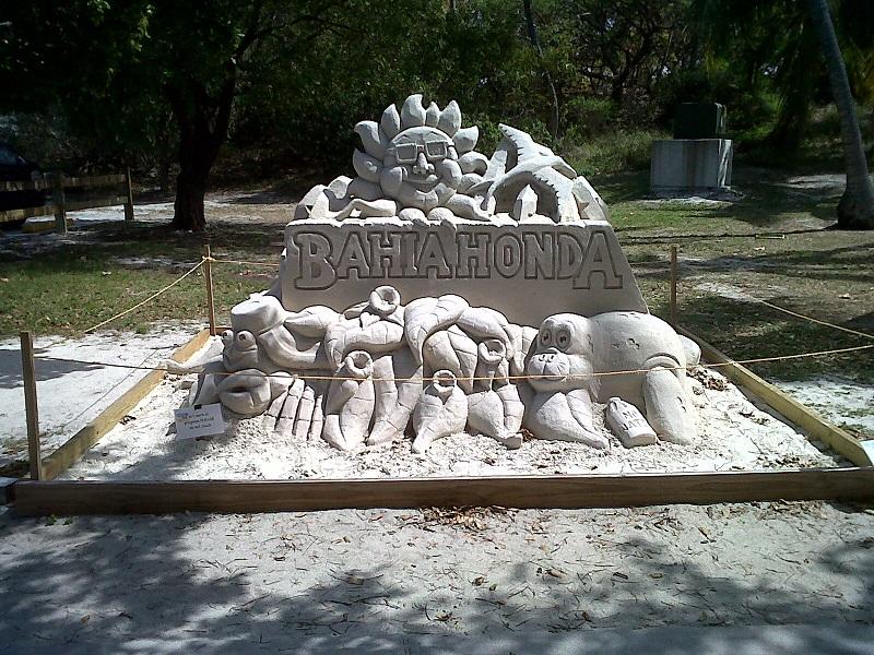 sand sculpture bahia honda