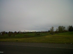 That soft white blob is Mt. St.Helens