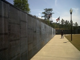 Vietnam war memorial Infantry museum