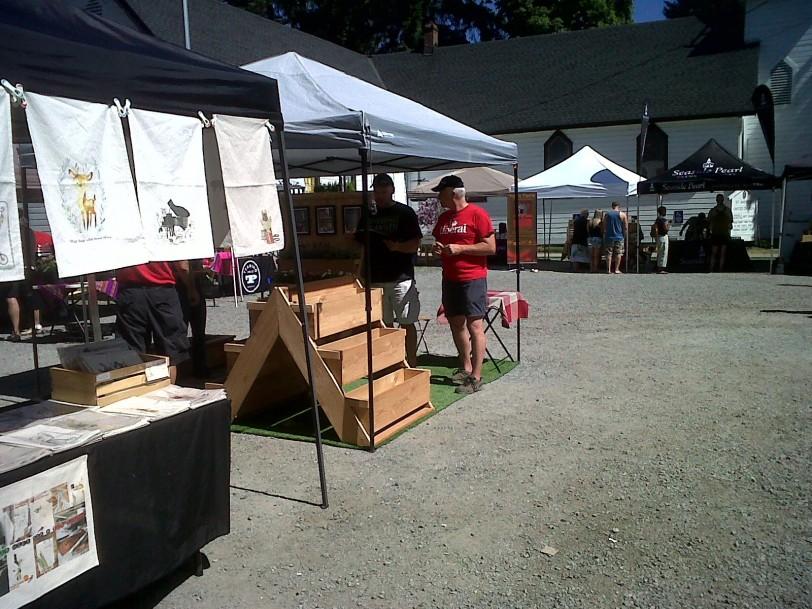 Ft. Langley market