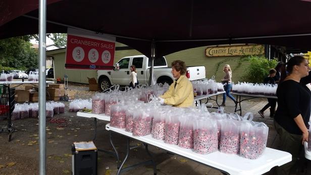 Cranberry sales
