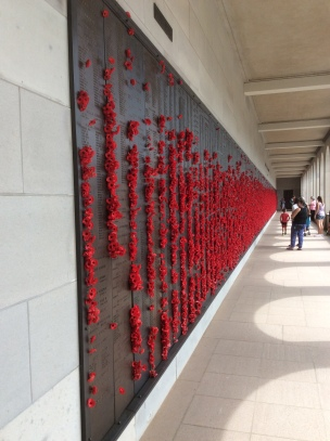Hall of Memory in the Australian War Memorial during our visit in 2018.