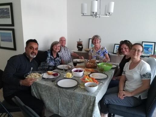 2potluck dinner May 2018