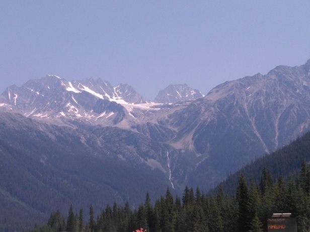 glacier at Rogers pass