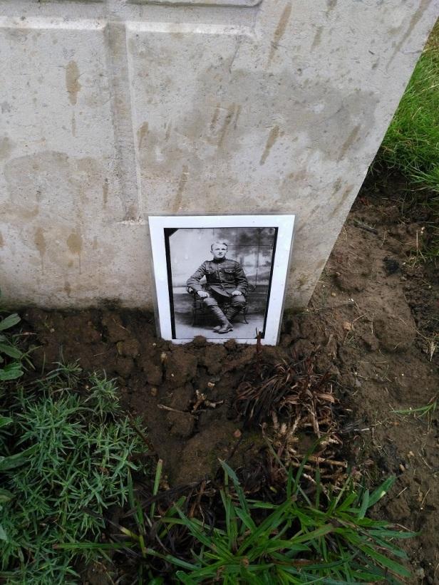 Lens area cemetery