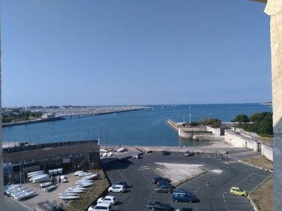 La Rochelle view from the tower