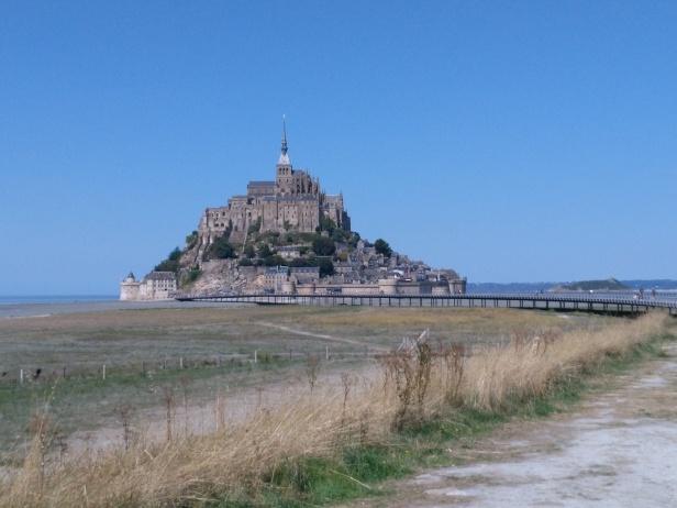 walkway to Mont St. Michel