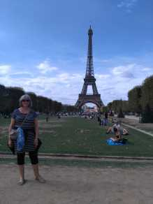 me and the tour eiffel