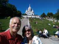 Sacre Coeur - 1st day in Paris