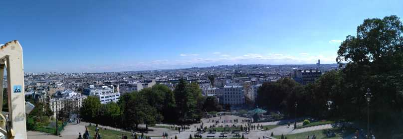 View fro Sacre Coeur